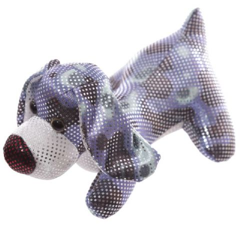 Dog Sand Animal Collectable Weighted Soft Toy Puckator (1 Supplied)